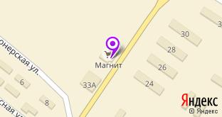 Универсам Магнит на карте Шиханов, ул. Ленина, 32
