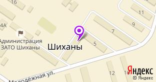 Людмила на карте Шиханов, ул. Молодёжная, 3