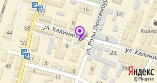 Чистый дом на карте города Джанкой, ул. Калинина, 13