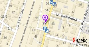Техтоник на карте города Джанкой, ул. Крымская, 56