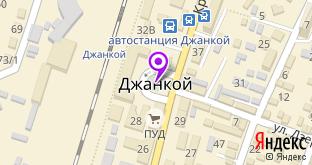 StilModa на карте города Джанкой, ул. Крымская, 31