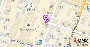 Ком ин тех на карте города Джанкой, ул. Интернациональная, 82