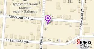 Магазин цветов на карте Мариинского Посада, ул. Ленинская, 5