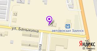 Алмаз-Холдинг на карте Заинска, ул. Баныкина, 3