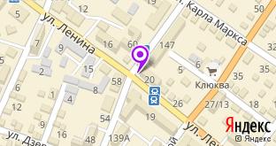 Магазин Браво на карте города Джанкой, ул. Ленина, 20