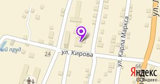 Продуктовый магазин на карте Теберды, ул. Карла Маркса, 32