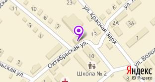 Пятёрочка на карте Курлово, ул. Школьная, 1