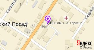 Йола маркет на карте Мариинского Посада, ул. Андрияна Николаева, 59А