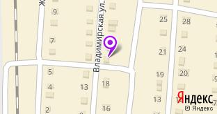 Продуктовый магазин на карте Курлово, ул. Владимирская, 18А