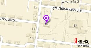 Пятёрочка на карте Заинска, ул. Ленина, 9